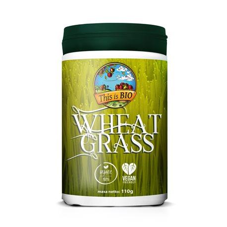 WHEAT GRASS 100% ORGANIC - 110g [This is Bio]