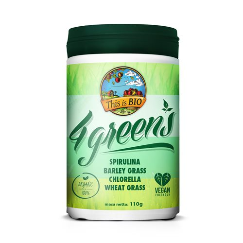4 GREENS 100% ORGANIC - 110g [This is Bio]