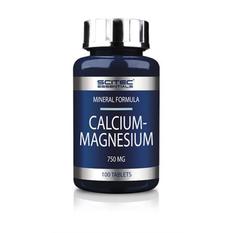 CALCIUM-MAGNESIUM - 100tabl [Scitec]