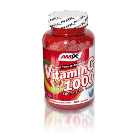 VITAMIN C 1000 - 100kaps [Amix]