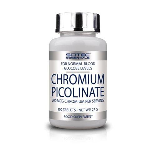 CHROMIUM PICOLINATE - 100tabl [Scitec]