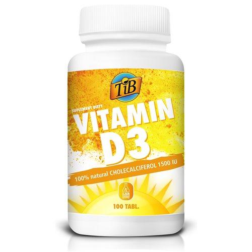 VITAMIN D3 1500IU - 100tabl [TiB®]
