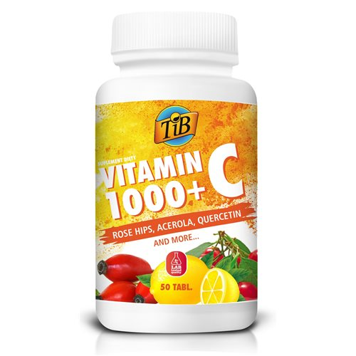 VITAMIN C 1000+ - 50tabl [TiB®]