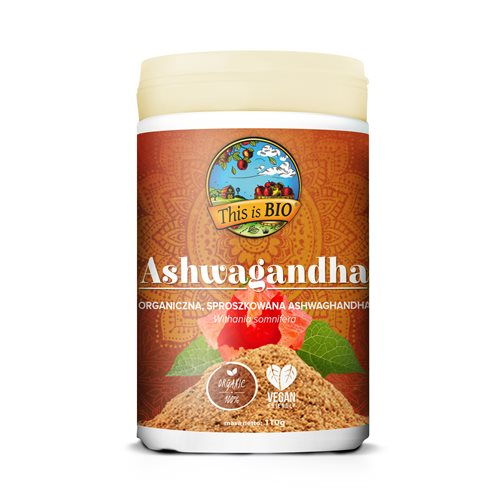 ASHWAGANDHA 100% ORGANIC - 110g [This is BIO®]
