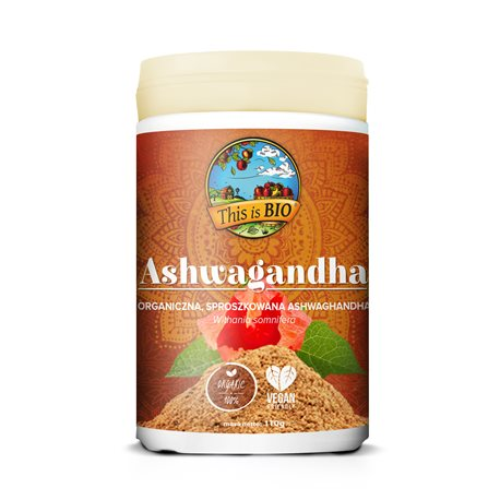 ASHWAGANDHA 100% ORGANIC - 110g [This is Bio]
