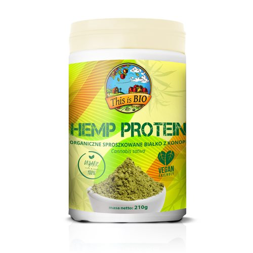 HEMP PROTEIN 100% ORGANIC - 210g [This is BIO®]