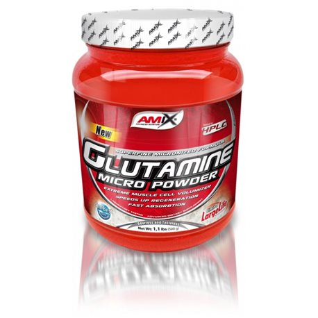 L-GLUTAMINE MICRO POWDER - 500g [Amix]