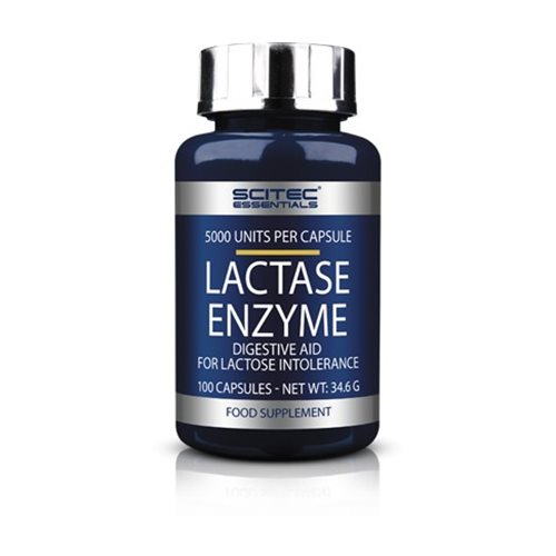 LACTASE ENZYME - 100kaps [Scitec]