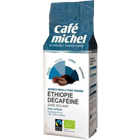 KAWA MIELONA BEZKOFEINOWA ETIOPIA FAIR TRADE BIO - 250g [Cafe Michel]