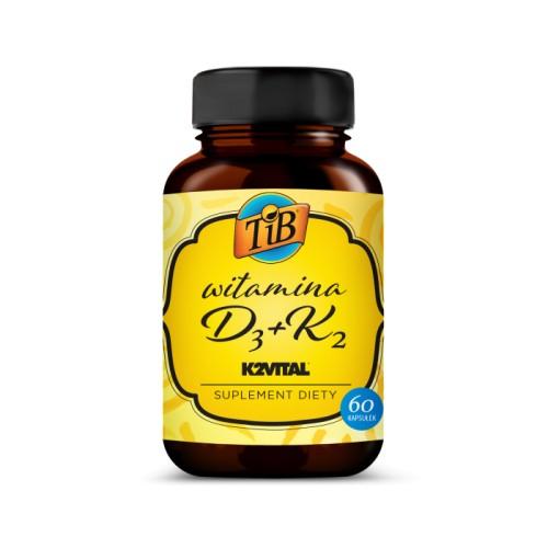 WITAMINA D3+K2 - 60KAPS [TIB®]