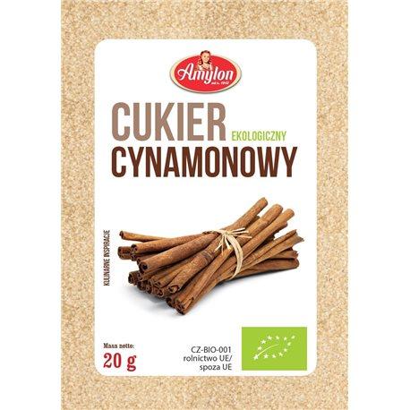 CUKIER CYNAMONOWY BIO - 20g [Amylon]