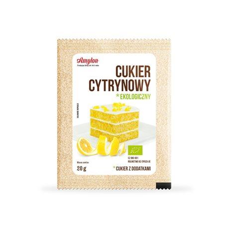 CUKIER CYTRYNOWY BIO - 20g [Amylon]